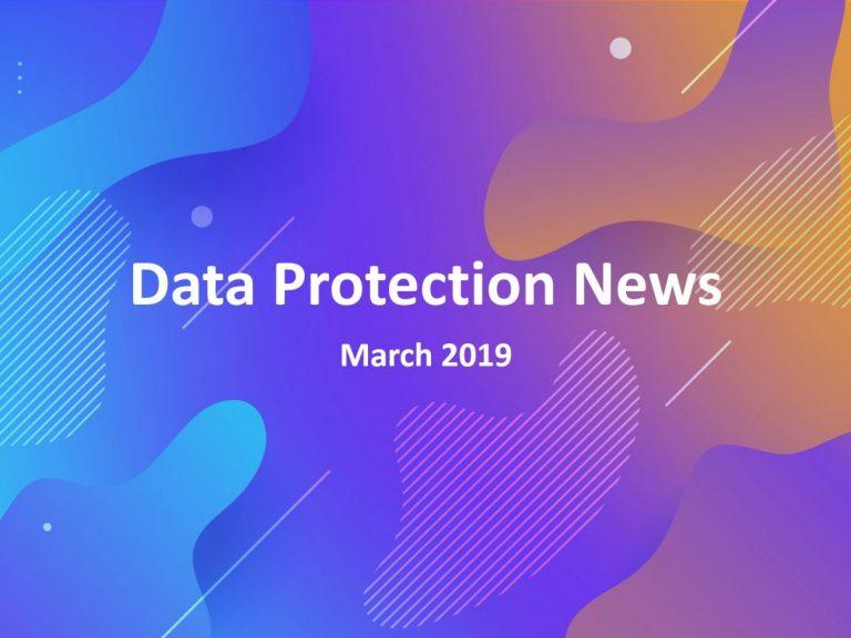 Evalian Data Protection News May 19