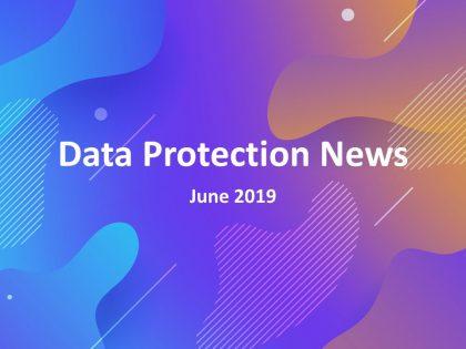 Data Protection News June 2019 Logo