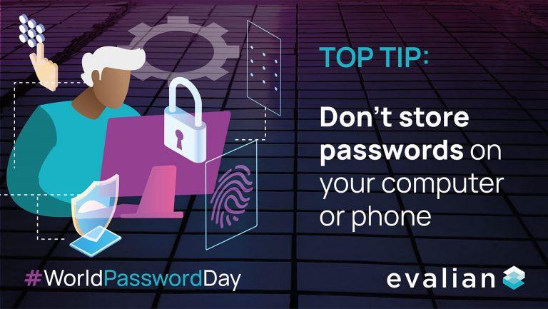 World Password Day password security Tip 3